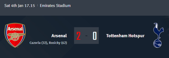 The FA Cup - Arsenal vs Tottenham Hotspur