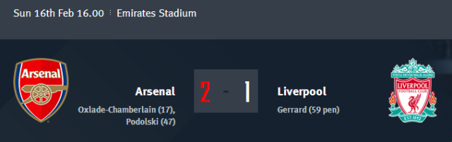 FA Cup - Arsenal vs Liverpool